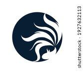 betta fish logo vector... | Shutterstock .eps vector #1927632113