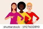 multi ethnic beauty. different... | Shutterstock .eps vector #1927632893