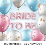 bridal shower invitation... | Shutterstock .eps vector #1927694099