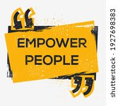 creative sign  empower people ... | Shutterstock .eps vector #1927698383