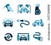 car wash auto cleaner 24h... | Shutterstock .eps vector #192769898