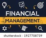creative  financial management  ... | Shutterstock .eps vector #1927708739