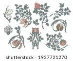 floral vintage elements....   Shutterstock .eps vector #1927721270