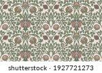 floral vintage seamless pattern ... | Shutterstock .eps vector #1927721273
