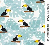 seamless pattern with cute... | Shutterstock .eps vector #1927737806