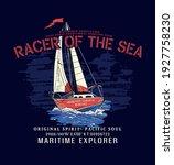 Journey Cruise Sailboat Print...