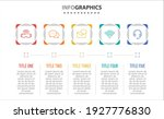 vector infographic design with... | Shutterstock .eps vector #1927776830