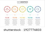 vector infographic design with... | Shutterstock .eps vector #1927776833