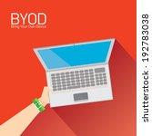vector flat design concept of... | Shutterstock .eps vector #192783038