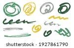 sketch scribble doodle graphic... | Shutterstock .eps vector #1927861790