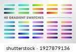 a palette of 40 gradient...