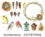 Spring Birds Collection  Wreath ...