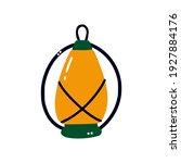 vintage camping lamp.... | Shutterstock .eps vector #1927884176