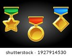 simple awards and medal...