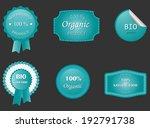eco labels | Shutterstock .eps vector #192791738