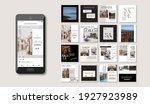 social media pack posts for... | Shutterstock .eps vector #1927923989