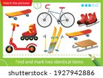 find and mark two identical... | Shutterstock .eps vector #1927942886