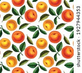 seamless pattern design with... | Shutterstock .eps vector #1927944353
