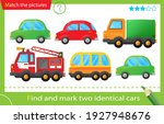 find and mark two identical... | Shutterstock .eps vector #1927948676