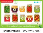 find and mark two identical... | Shutterstock .eps vector #1927948706