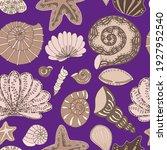 vector seamless pattern... | Shutterstock .eps vector #1927952540