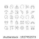juneteenth. collection of... | Shutterstock .eps vector #1927952573