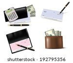 big collection of business...   Shutterstock .eps vector #192795356
