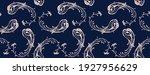 bandana print. vector seamless... | Shutterstock .eps vector #1927956629