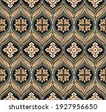 bandana print. vector seamless... | Shutterstock .eps vector #1927956650