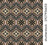 bandana print. vector seamless... | Shutterstock .eps vector #1927956653