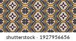bandana print. vector seamless... | Shutterstock .eps vector #1927956656