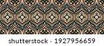 bandana print. vector seamless... | Shutterstock .eps vector #1927956659