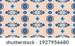bandana print. vector seamless... | Shutterstock .eps vector #1927956680