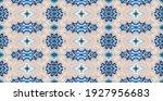bandana print. vector seamless... | Shutterstock .eps vector #1927956683