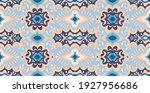 bandana print. vector seamless... | Shutterstock .eps vector #1927956686