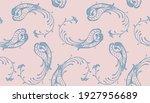 bandana print. vector seamless... | Shutterstock .eps vector #1927956689