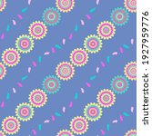 seamless repeat pattern swatch. ... | Shutterstock .eps vector #1927959776