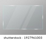 glass plate transparency frame... | Shutterstock .eps vector #1927961003