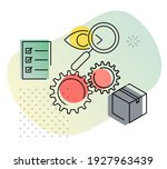 in house production... | Shutterstock .eps vector #1927963439
