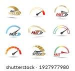 speed  vector logo racing event ...   Shutterstock .eps vector #1927977980