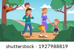 mother  father  daughter  son... | Shutterstock .eps vector #1927988819