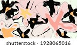 hand drawing flowers  vector... | Shutterstock .eps vector #1928065016