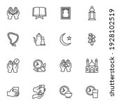 ramadan kareem holiday vector...   Shutterstock .eps vector #1928102519
