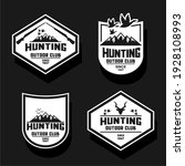 various vector and hill hunting ... | Shutterstock .eps vector #1928108993