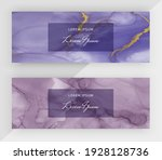 blue and purple alcohol ink... | Shutterstock .eps vector #1928128736