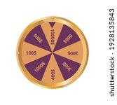 shining wheel of fortune....   Shutterstock .eps vector #1928135843