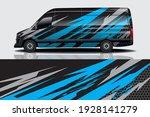 car wrap graphic racing... | Shutterstock .eps vector #1928141279