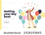 holiday event planning concept... | Shutterstock .eps vector #1928195843