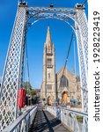 Inverness City With Bridge Over ...