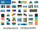 big set of charst  tables ... | Shutterstock .eps vector #1928224499